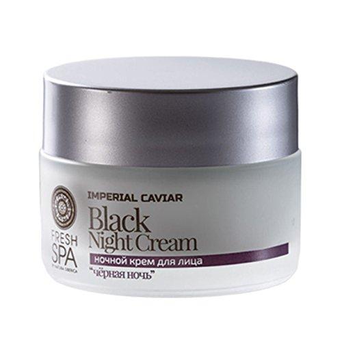 Natura Siberica Crema de Noche Negra, Rejuvenecedora - 50 ml
