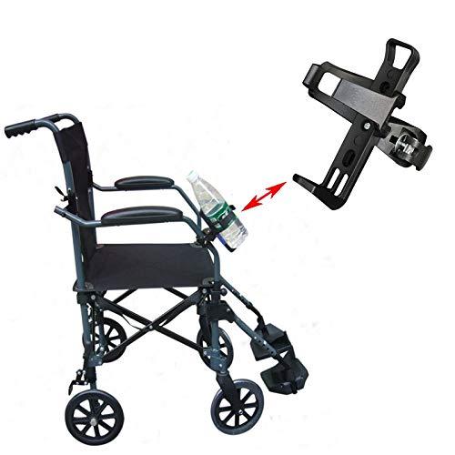 SISHUINIANHUA 1 STK Universal-Wasser Zubehör und Ersatzteile Flasche, Getränk und Cup Dosenhalter Standplatz für Rollstuhl Auto