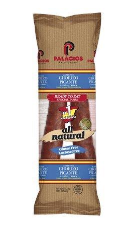 Palacios - Hot Spanish Chorizo, (2) - 7.9 oz. Packages