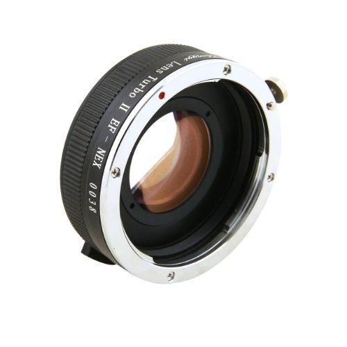 Zhongyi Lens Turbo II 0,72x Speed Booster für Canon EOS EF Mount Lens to Sony NEX E Mount APS-C Kamera A6000