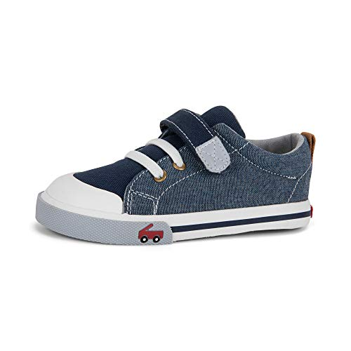 See Kai Run, Stevie II Sneakers for Kids, Chambray, 2Y