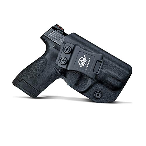 """M&P Shield 9mm Holster IWB Kydex for Smith & Wesson M&P Shield 9mm .40 3.1"""" Barrel S&W Pistol Case Concealed Carry, Inside Waistband Carry Concealed Holster M&P Shield 9mm 40 Accessories, Right Hand"""