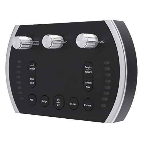 Audio Mixer Duurzaam Zwart 8 Geluidsveranderingen 12 Elektrische Geluiden Geluidskaart Kantoor voor Live Uitzending Home…