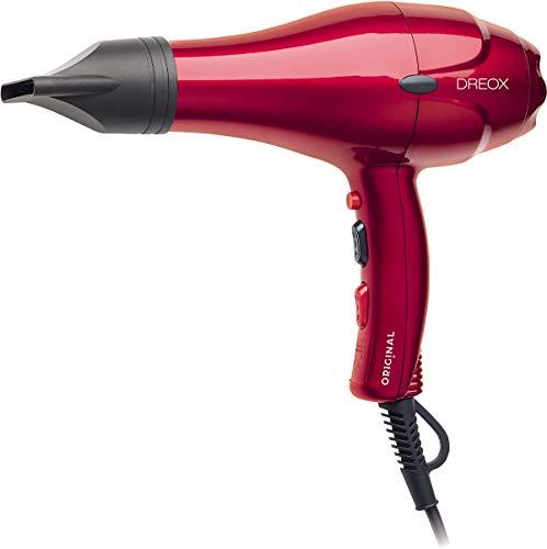 SINELCO FRANCE Original Dreox Seche Cheveux Ac Rouge Metallique 2000 W