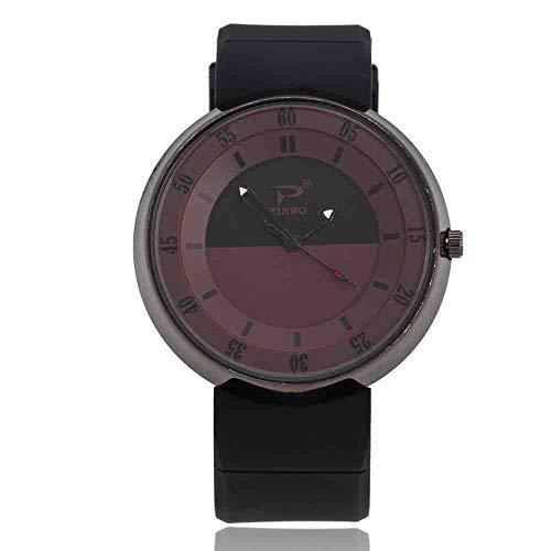DECTN Armbanduhr Modetrend Mehrfarbensport Minimalist Kreatives Konzept Persönlichkeit wasserdichte Quarzuhr Paar Sandkasten Kaffee