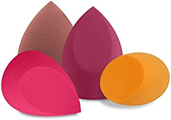 BAIMEI 4Pcs Makeup Sponge Blender Set, Multi-shape Blending Sponges