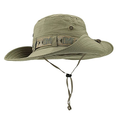 TREESTAR Summer Simple Monochrome Double Layer Fisherman Hat Unisex Bucket Hat for Outdoor Tourism Sun Protection Fishing Hat 1Pcs
