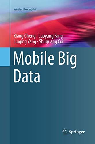 Mobile Big Data (Wireless Networks)
