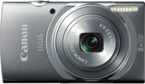 Canon Digital IXUS 150 - Cámara compacta de 16 MP (Pantalla de 2.7', Zoom óptico 8X,...