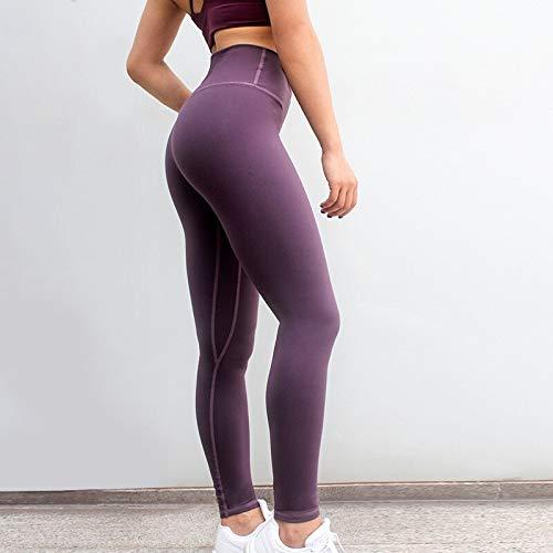 Opprxg Pantalones de Yoga para Mujer, Leggings Deportivos sin Costuras de Cintura Alta, Fitness Femenino, Gimnasio Delgado, Fitness, Push up, Mallas para Correr de Invierno, Leggings