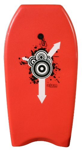 Atom Bodyboard, Unisex, rot