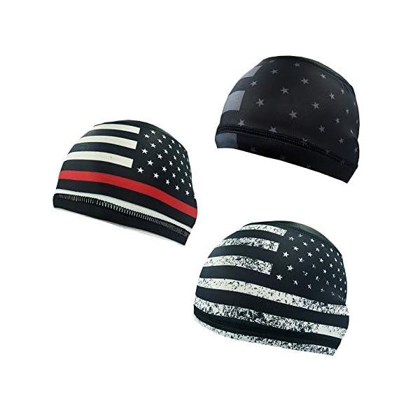 Gegado Skull Cap Helmet Liner, Sweat Caps, Hard Hat Liner, Cycling Skull Caps for...
