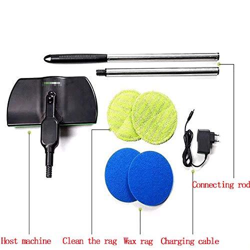 LIUXIUER Elektrische Haushalts-Push-Typ-Teleskop-Kehrmaschine Mop Wireless-Elektro-Dreh-Reinigungs-Tool Wiederaufladbare Kehrmaschine