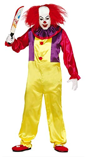 Guirca 84317.0 Déguisement de clown tueur pour adulte Taille 52-54