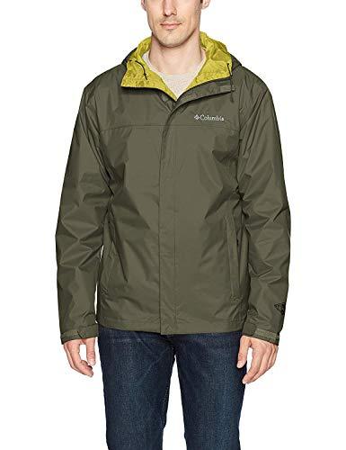 Columbia Men's Watertight II Rain Jacket Chaqueta para Lluvia, Grava, L para Hombre