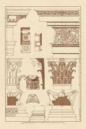 Feeling at home Imagen sobre Lienzo con Caja Americana Entablamentos, capiteles y...
