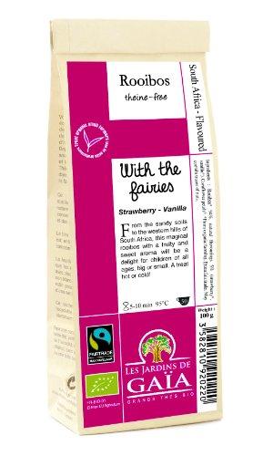 Les Jardins de Gaïa Rooibos Elixir des Petits Lutins Fraise Vanille 100 g
