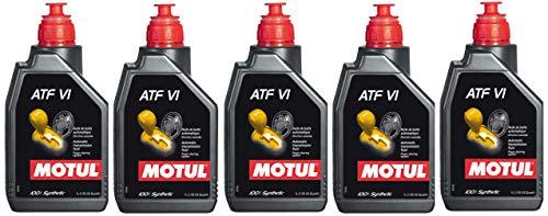 Motul ATF VI Aceite para caja de cambios automática ATF, Dexron VI, Mercon LV, 5 litros