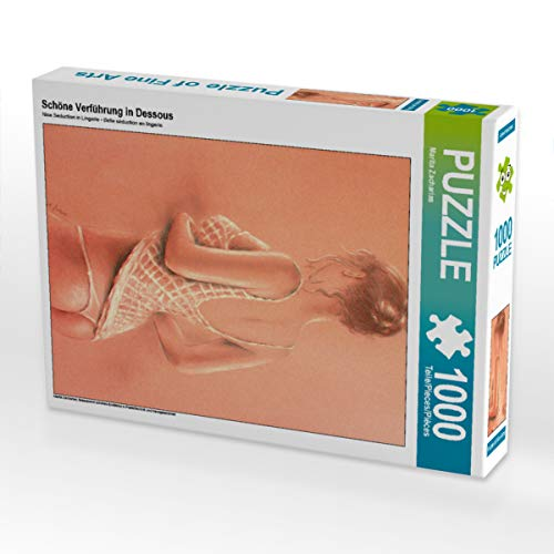 CALVENDO Puzzle Schöne Verführung in Dessous 1000 Teile Lege-Größe 48 x 64 cm Foto-Puzzle Bild von Marita Zacharias