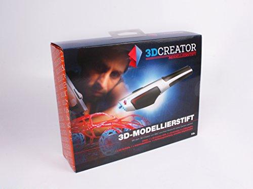 Penna 3D per bambini | 3D pen | Penna 3d professionale kit compl. con filamento 3D | 3D printing pen | Penna 3D filamenti | Con 2 ricariche penna 3D