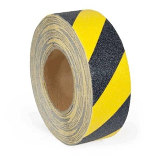 Anti-slip tape type vervormbaar, geel/zwart, 15x1830cm