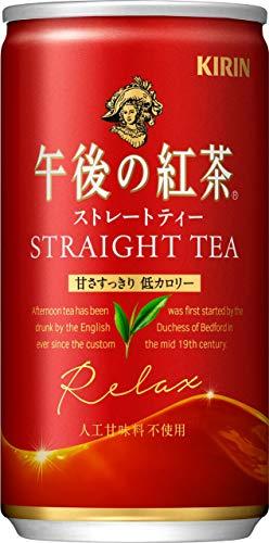 午後の紅茶 ストレートティー 185g×20本 缶