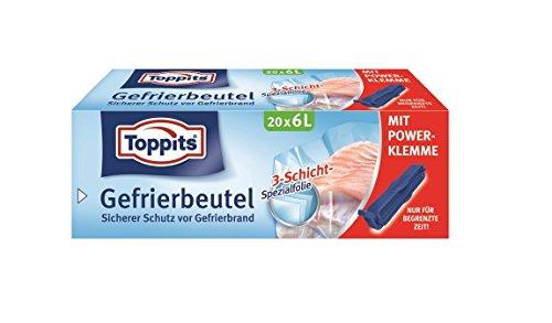 Toppits Gefrierbeutel 8 L / 10 pezzi