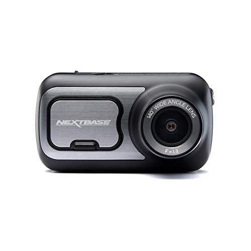 Nextbase 422GW - Series 2 Car Dash Camera - Full 1440p/60fps HD Recording DVR Cam - Front Recording - 140° Wide Viewing Angle - Wi-Fi and Bluetooth - Built-in Alexa - GPS - Black