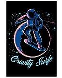 AZSTEEL Gravity Surf Vertical Poster 11.7