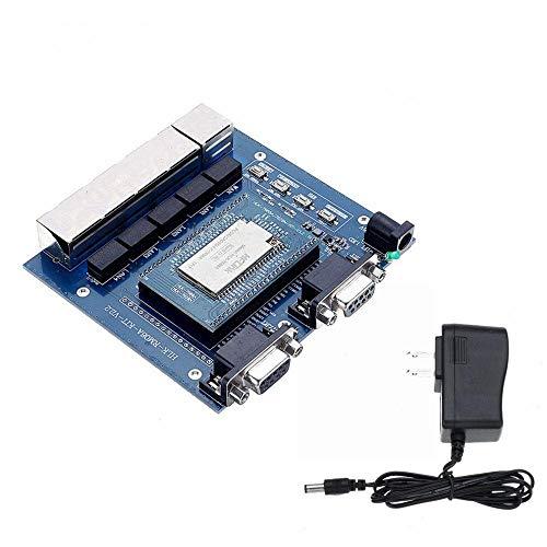 ZJF Componentes de la computadora Accesorios eléctrico MT7688AN Módulo de WiFi Serie Industrial Ethernet UART WiFi Módulo inalámbrico de OpenWrt Linux HLK-7688A Kit para hogar Inteligente