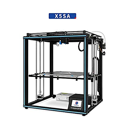 TRONXY X5SA Large-Size DIY kit high-Precision Industrial-Grade Home 3D Printer, Silent Pulley, Material Break Detection, one-Key Leveling Automatic Leveler, bidirectional Fan