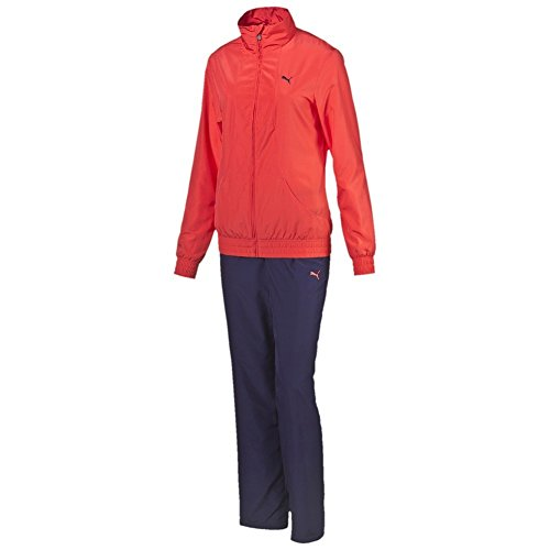 PUMA Womens Tracksuit Fun Woven Jog Suit Fitness Track top Pants Set 834334 New (Small)