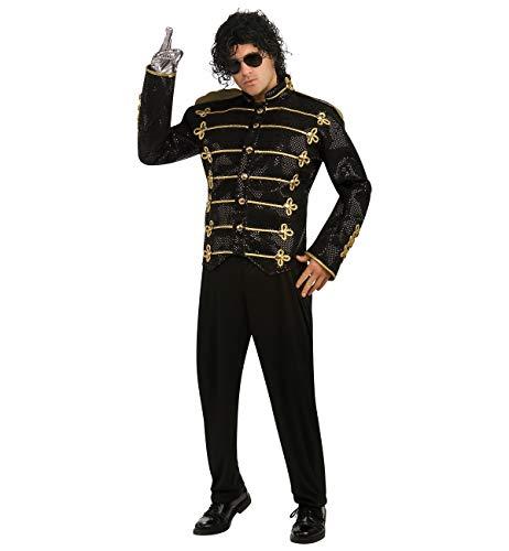 Michael Jackson Deluxe Military Jacket, Black