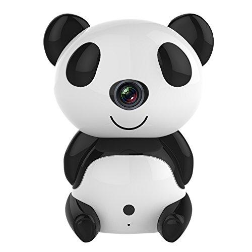 ANNKE Telecamera IP Camera Wireless 720P Videocamera Sorveglianza 1280 x 720P Sistema di sicurezza,H.264,Visione Notturna,IP66,Pan/Tilt,Audio bidirezionale,P2P,Dome Camera (Bianco)