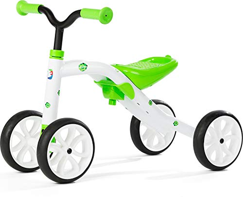 Chillafish Quadie 4 Ruedas Grow-with-Me Ride-On Quad, Verde Lima