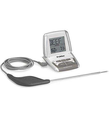 Polder Thermometer Deluxe THM 308 90 mit Ultra-Sonde