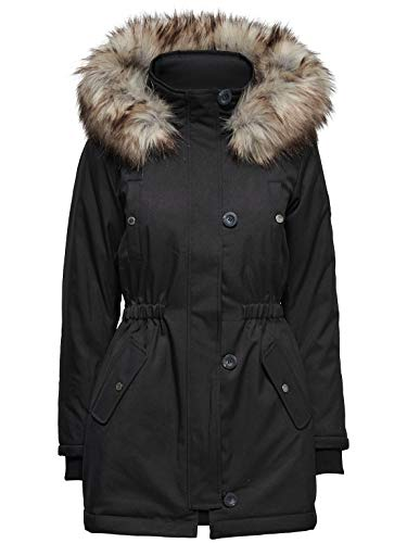ONLY schwarz XXL Thermoparka