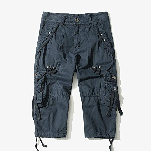 Kurze Shorts Laufhose Summer Camouflage Loose Cargo Shorts Herren Camo Summer Short Pants Homme Cargo Shorts Ohne Gürtel Drop Shipping 31 Nvay