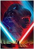 JSYEOP Star Wars Darth Vader und Luke Skywalker Poster