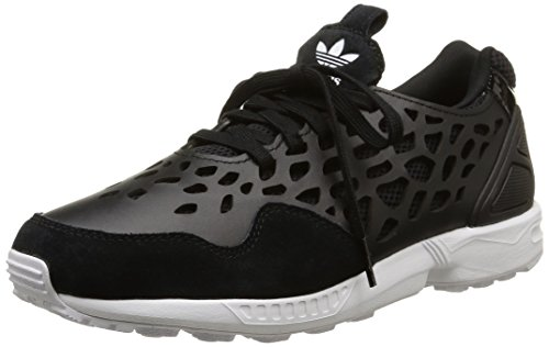 adidas Damen Zx Flux Lace Woman Low-top, schwarz/weiß, 38 EU