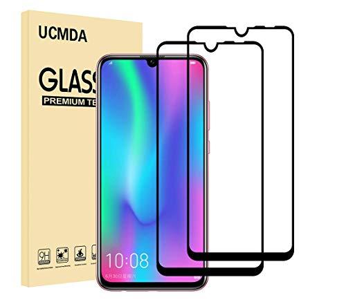 UCMDA Protettiva per Xiaomi Redmi Note 7 /Xiaomi Redmi Note 7 PRO, [2 Pezzi] Xiaomi Redmi Note 7 /Xiaomi Redmi Note 7 PRO Protezione Schermo Vetro Temperato [Durezza 9H]