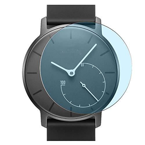 Vaxson 3 Stück Anti Blaulicht Schutzfolie, kompatibel mit Withings Activite Pop Smartwatch Hybrid Watch, Bildschirmschutzfolie TPU Folie Displayschutz [nicht Panzerglas Hülle Hülle ]
