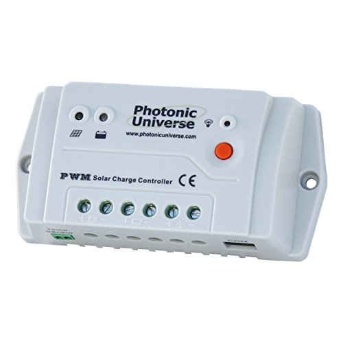 Photonic Universe Controller/Solar-Laderegler 12/24V für Wohnwagen/Boot bis 10A oder Energie Solar 160W