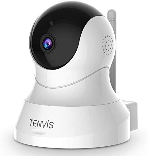TENVIS 1080P Security Camera - Wireless Camera, IP Camera with Night Vision, 2-Way Audio, 2.4Ghz...