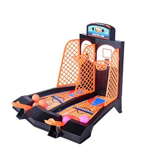 Tabletop Mini Basketball Schießen Spiel Desktop-Spiel 2 Spieler Shootout Hoops Basketball Punkten Gerät Für Kinder Kinder