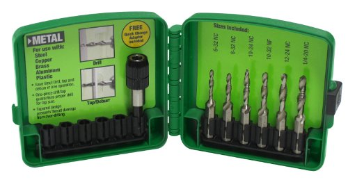 Greenlee DTAPKIT COMBINATION DRILL/TAP BIT SET