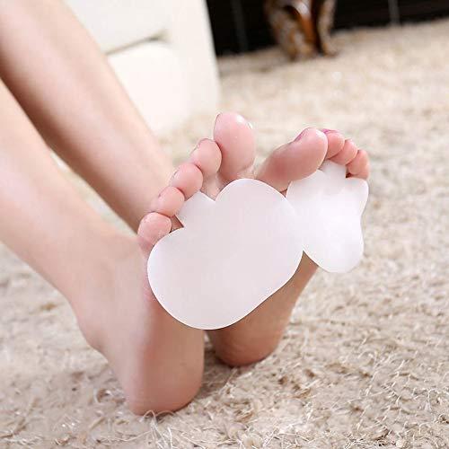 Placehap - Almohadillas de lactancia para la palma del pie, de silicona...