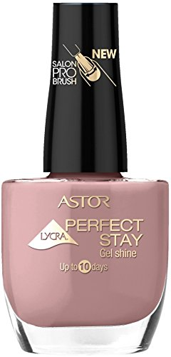 Astor Perfect Stay Shine Nagellack, Farbe 518, Symbolic Lila, 13 x 12 ml