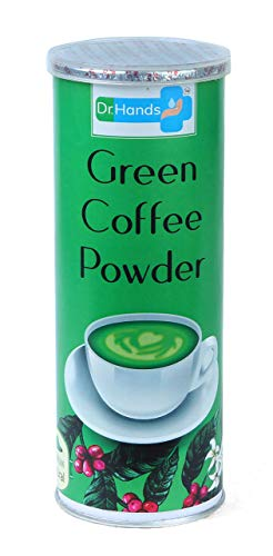 Pack of 2 (2×200 g) Dr.Hands Green Coffee Powder for Weight Loss and Immunity Enhancement