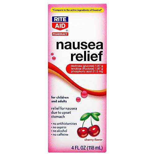 Rite Aid Upset Stomach & Nausea Relief Liquid Medication, Cherry Flavor- 4 fl oz -  L. PERRIGO CO., 011822309882